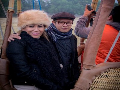 Hot Air Balloon Ride for Couples, Tequisquiapan