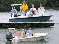 Pesca en bote