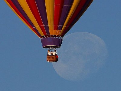 Hot Air Balloon Ride + Master Suite Bedroom