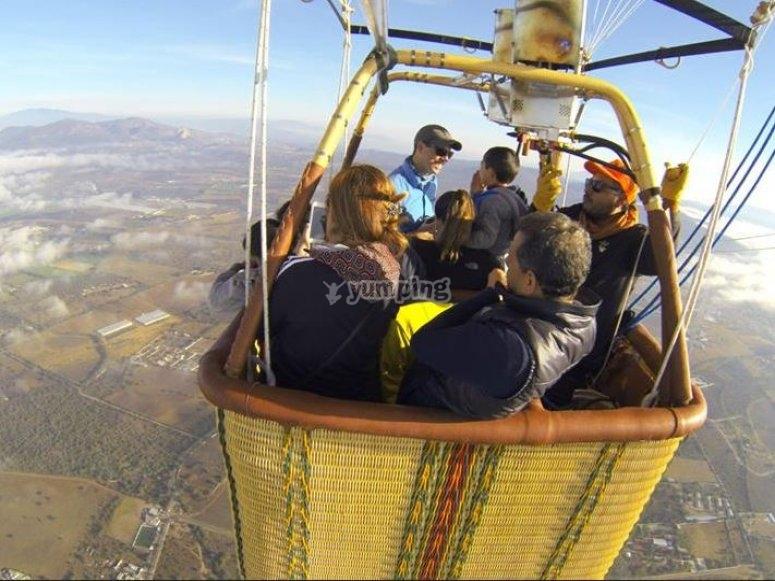 Balloon flight group