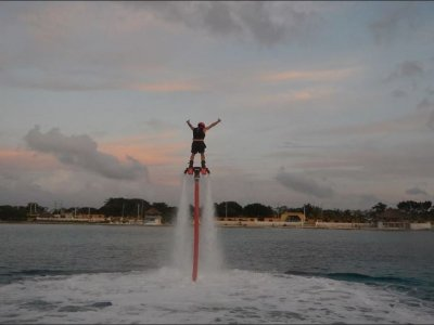 30 minutes Flyboard at Cozumel