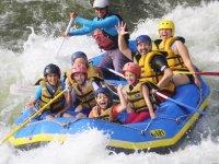 Rafting in Rio Pescados. Jalcomulco.