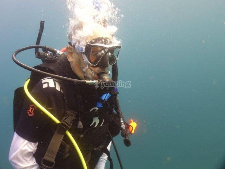 Certifícate con Advanced Open Water Diver en Ixtapa