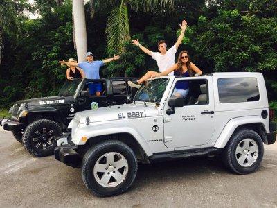 Tour jeep para grupos snorkel y desayuno, Cozumel
