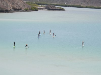 Yoga SUP in La Paz, Baja California Sur