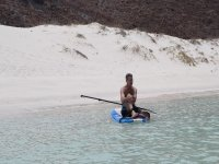 Tour in sup by the island