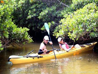 Kayak, 5 hours. Isla del Tesoro.