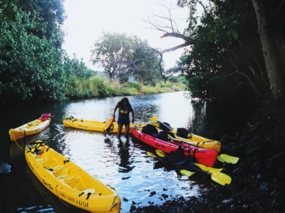 4 hours kayaking by La Paz bay