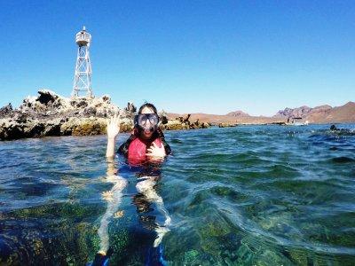 Snorkel en San Rafaelito Baja California Sur