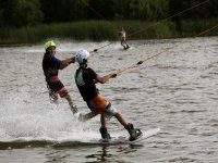 Esqui acuatico en pareja