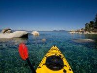 Recorrido de kayak en la playa