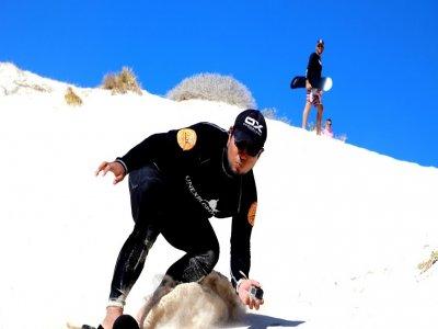 Sandboard en La Paz (Las Dunas del Mogote)