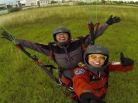 The best paragliding flight