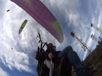 Paragliders in Puebla
