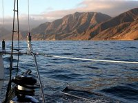 Barco en la isla de Cedros