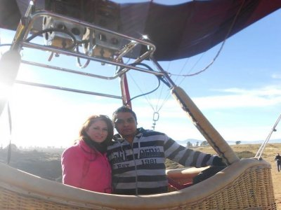 Lovers balloon flight package, Teotihuacan