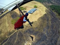 Learning to fly in Delta Wing