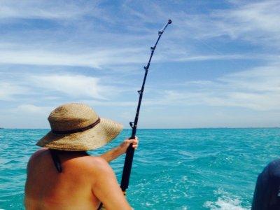 Pesca Deportiva y bebidas en Cancún 8 horas
