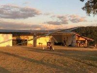 Hangar for ultralights