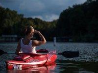 Paseo en Kayak en el lago