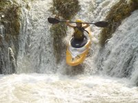 Descenso en kayak