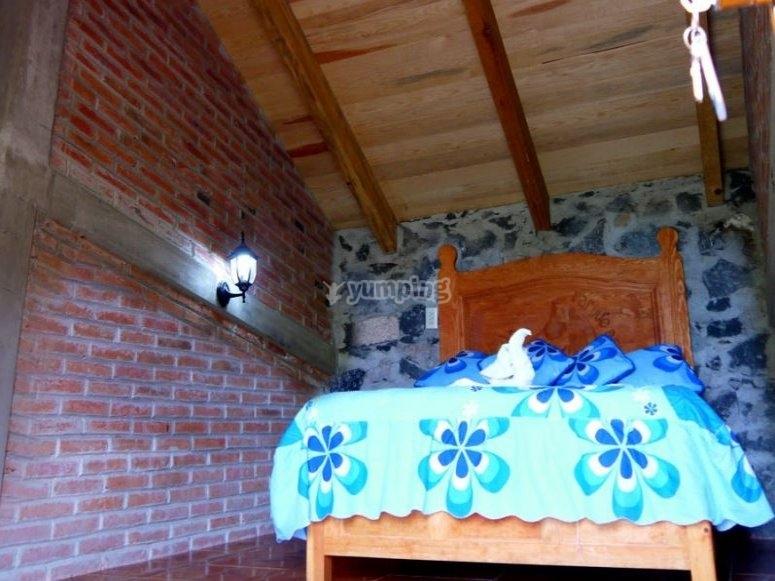 Habitacion de las cabanas