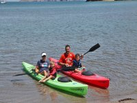 Kayaking with the kids