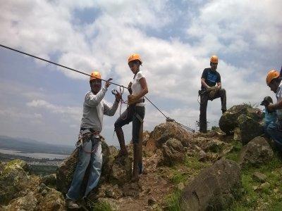 Zip-line, suspended bridge San Miguel de Allende