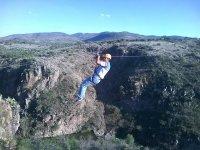Tirolesas y puente colgante San Miguel de Allende