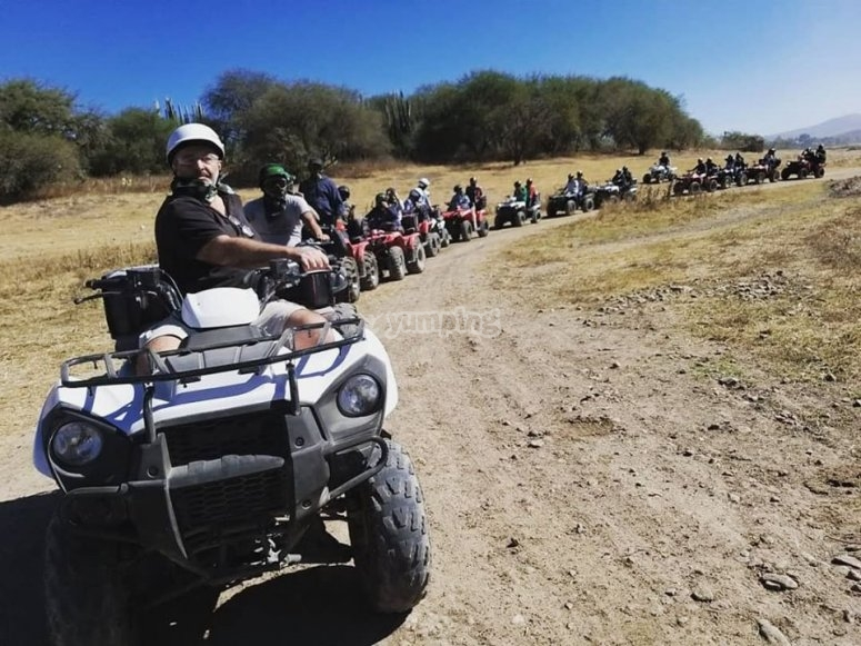 Quad bike experience in San Miguel