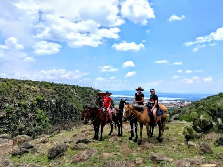 Horseback riding PASMA