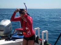 Snorkel en mar de Cortés
