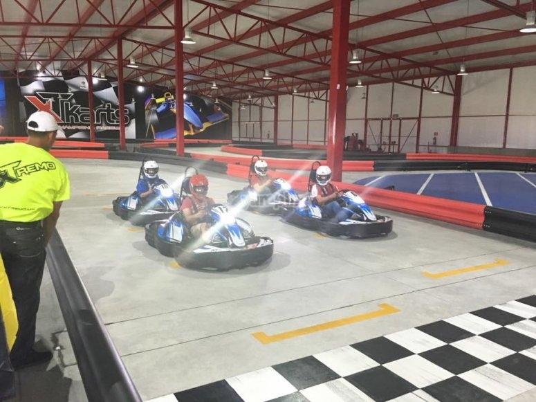 Go-Karts circuit at Puebla