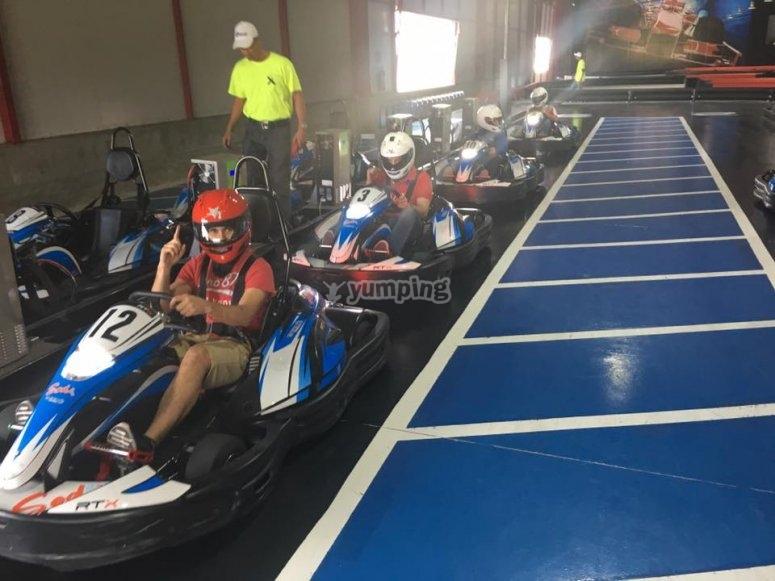 Karting race track in Puebla