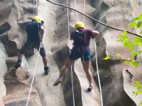 Rappelling lines
