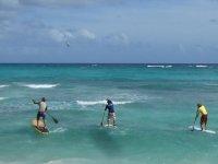 Diversion en el paddel surf