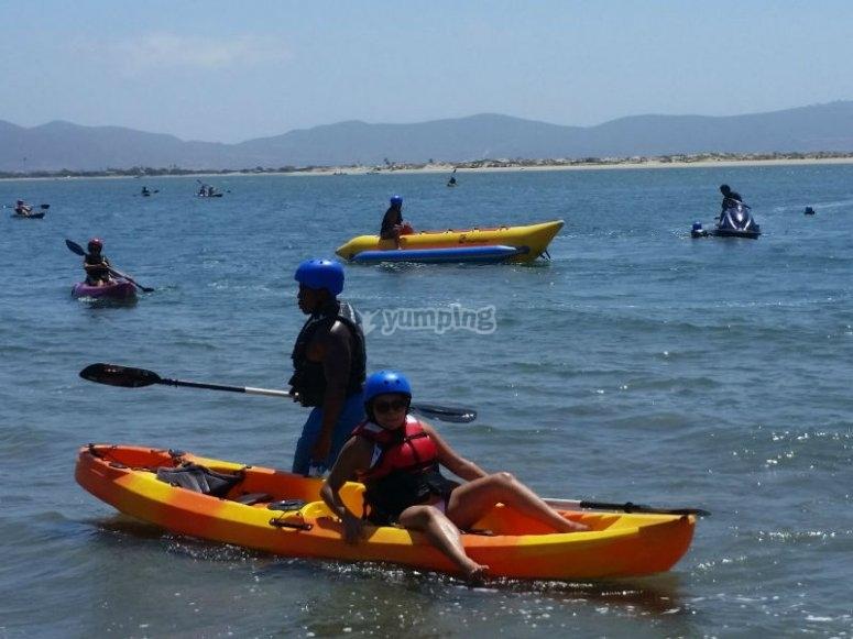 Aventura de kayak en Rosarito