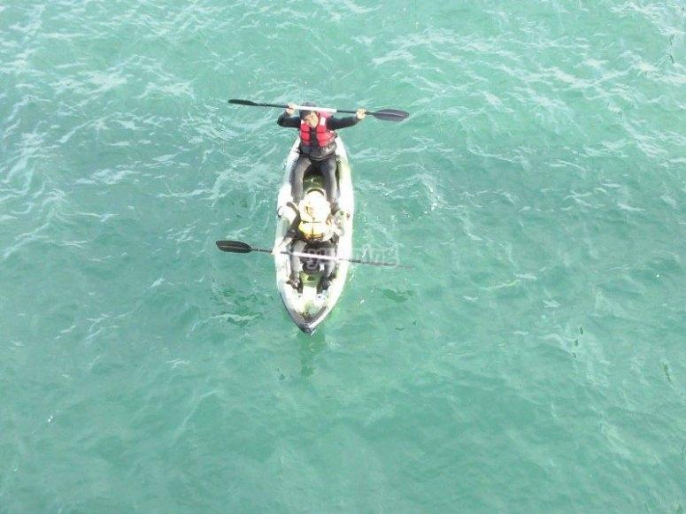 Navega por el mar con tu kayak