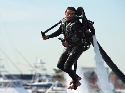 Jet pack rental in Ensenada for 30 minutes