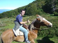 Ride a horse surrounded by beautiful landscapes