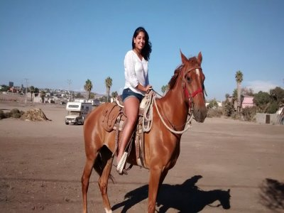 Ruta a caballo en Rosarito 15 minutos