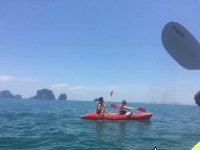 Kayak with your partner