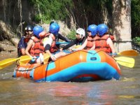 Rafting on the amacuzac river