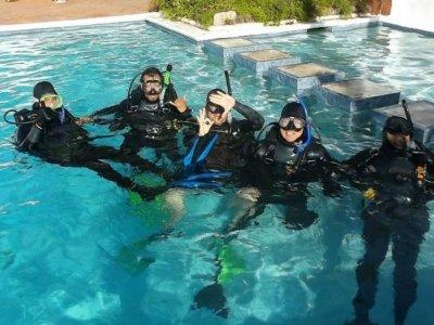 Curso de buceo Open Water Diver PADI en Rosarito