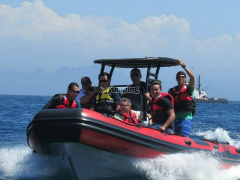 To the open water class