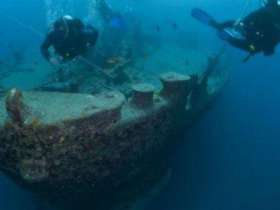 Certificación de buceo Wreck Diver en Rosarito 2 d