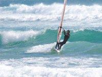 Practicar windsurf