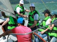 De regata en Valle de Brazo