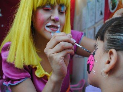 Face paint for children's party 2 hours, Puebla