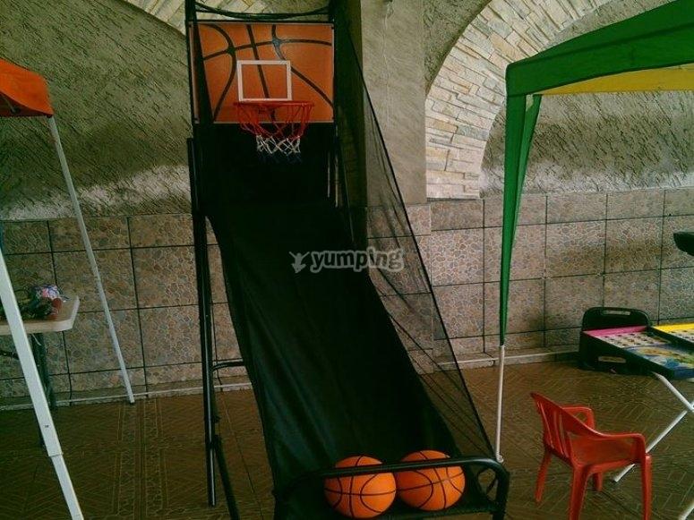 Juego de basquetbal